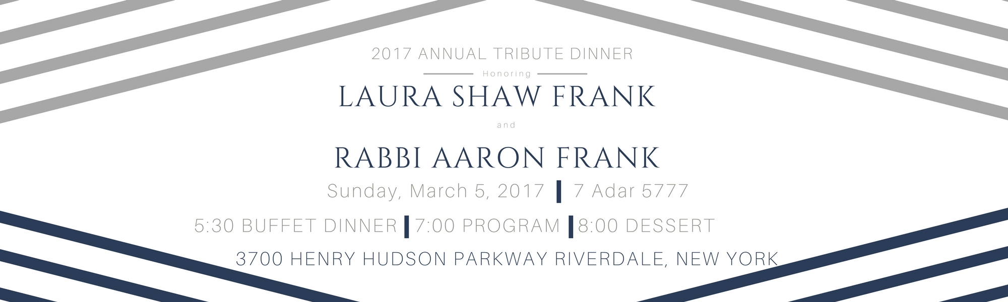Annual Tribute Dinner 2017 - Yeshivat Chovevei Torah, Setting the standard in rabbinic education