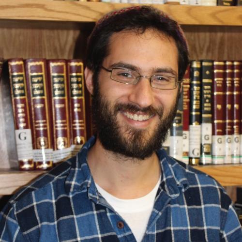 Rav Hillel Mansfield - YCT Israel Fellow